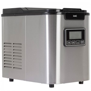 iceQ Stainless Steel Deluxe Ice Maker