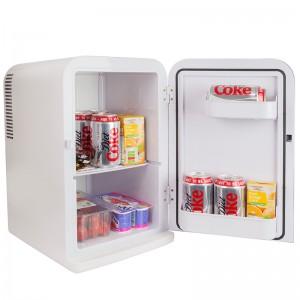 iceQ 15 Litre Deluxe Portable Mini Fridge - White - Clearance