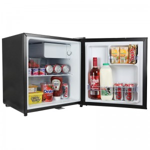 iceQ 48 Litre Table Top Lockable Fridge - Black
