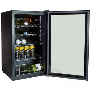 iceQ 93 Litre Under Counter Glass Door Display Fridge - Clearance - C