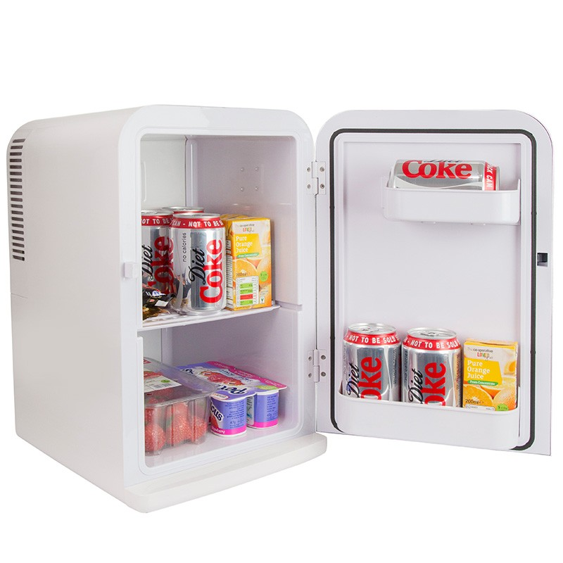 Iceq 15 Litre Deluxe Portable Mini Fridge White Mini