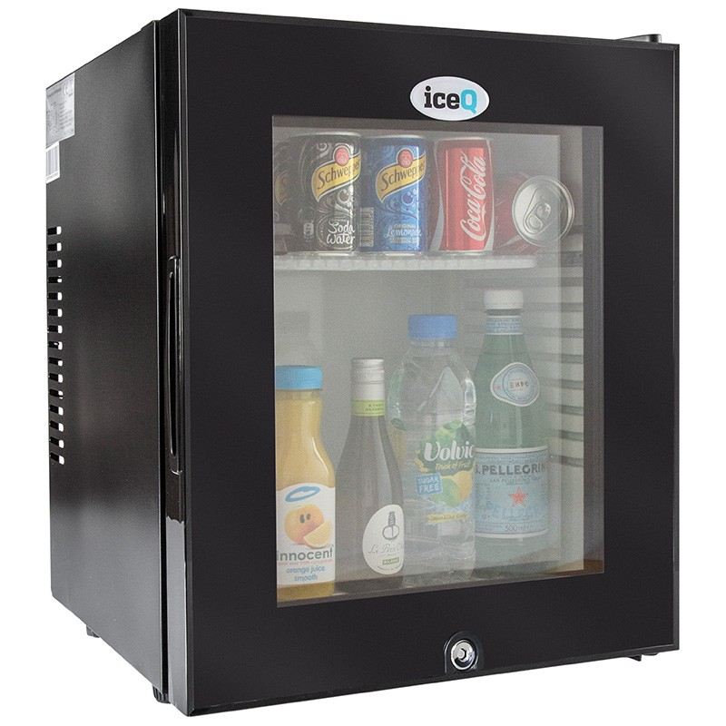iceq 24 litre glass door mini bar - Glass Front Mini Fridge