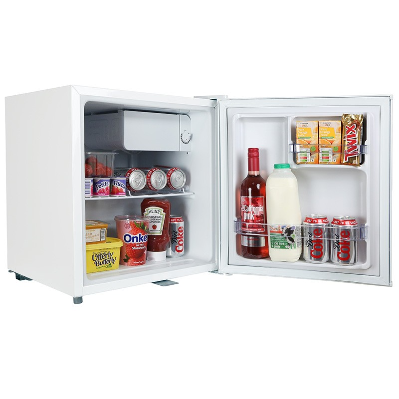 iceq 48 litre table top lockable fridge white. Black Bedroom Furniture Sets. Home Design Ideas