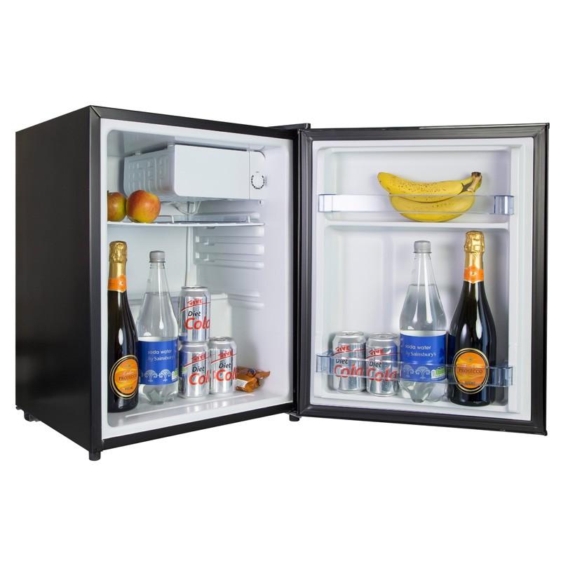 iceq 70 litre table top fridge black under counter. Black Bedroom Furniture Sets. Home Design Ideas