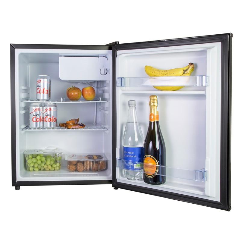 iceq 70 litre table top fridge black. Black Bedroom Furniture Sets. Home Design Ideas