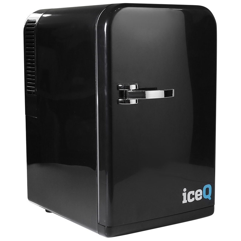 Click to view product details and reviews for Iceq 15 Litre Deluxe Portable Mini Fridge Black.