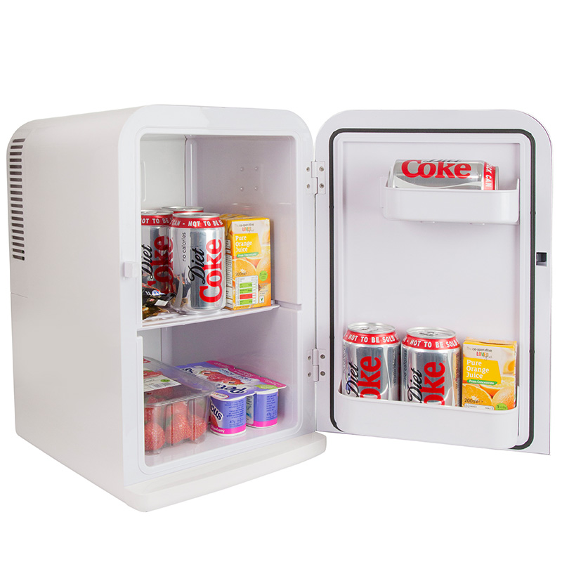 Iceq 15 Litre Deluxe Portable Mini Fridge White