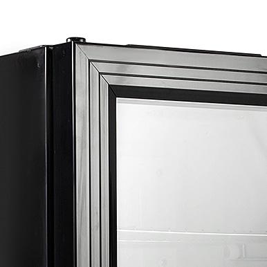 Black uPVC Door