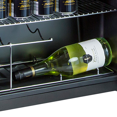 Integrated Wine Rack