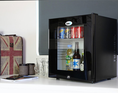 Integrated fridges for office cabinets