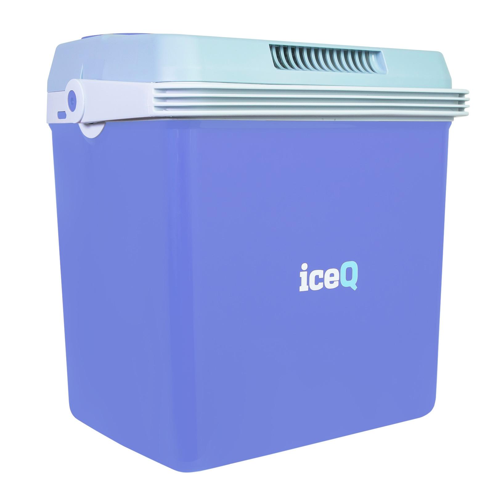 Iceq 32 Litre Electric Cool Box Blue