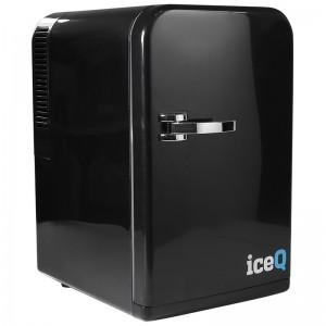 iceQ 15 Litre Deluxe Portable Mini Fridge - Black