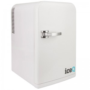iceQ 15 Litre Deluxe Portable Mini Fridge - White