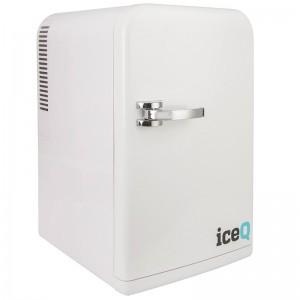 iceQ 15 Litre Deluxe Portable Mini Fridge - White
