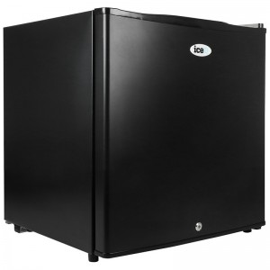 iceQ 43 Litre Table Top Lockable Fridge - Black