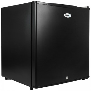 iceQ 48 Litre Table Top Lockable Fridge - Black - Clearance - A