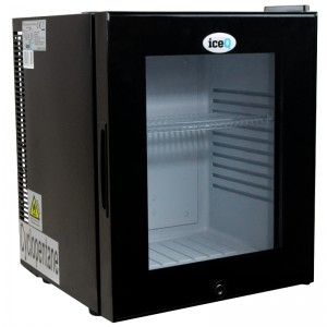 iceQ 24 Litre Silent Glass Door Mini Bar
