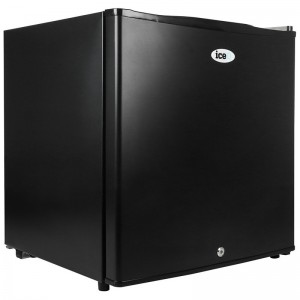 iceQ 43 Litre Table Top Lockable Fridge - Black