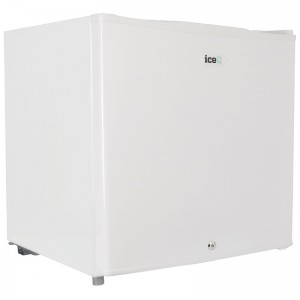 iceQ 43 Litre Table Top Lockable Fridge - White