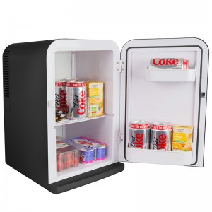 iceQ 15 Litre Deluxe Portable Mini Fridge - Black