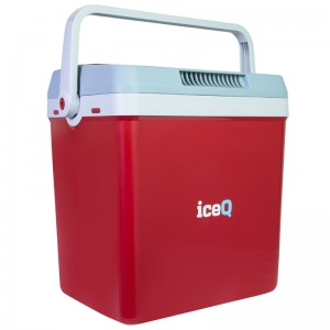 iceQ 32 Litre Electric Cool Box - Red