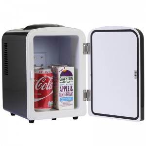 iceQ 4 Litre Mini Fridge - Black - Clearance - A