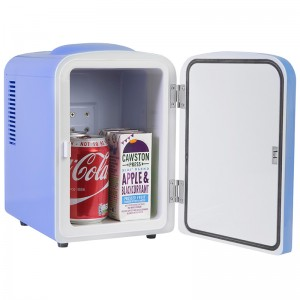 iceQ 4 Litre Mini Fridge - Blue