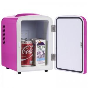 iceQ 4 Litre Mini Fridge - Pink