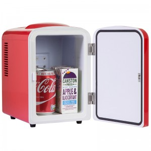 iceQ 4 Litre Mini Fridge - Red - Clearance - A