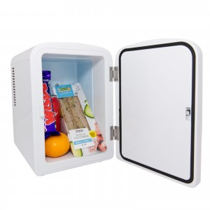 iceQ 4 Litre Mini Fridge - White