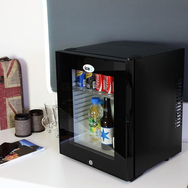 Iceq 24 Litre Silent Glass Door Mini Bar Small Fridges