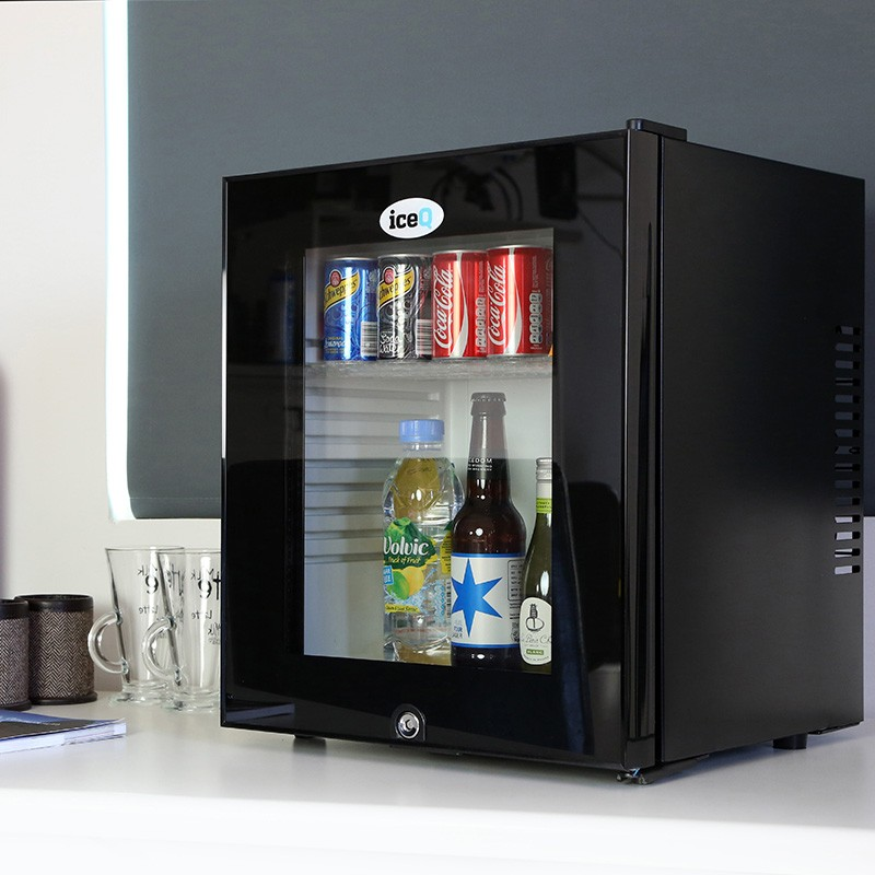 Iceq 24 Litre Slient Glass Door Mini Bar Small Fridges