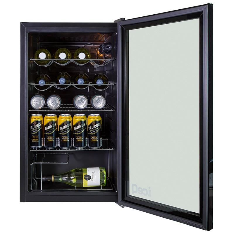 Iceq 93 Litre Under Counter Glass Door Display Fridge