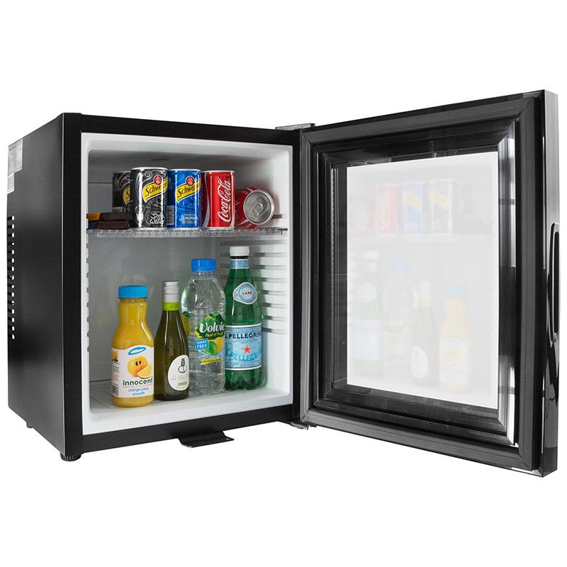 Iceq 24 Litre Slient Glass Door Mini Bar