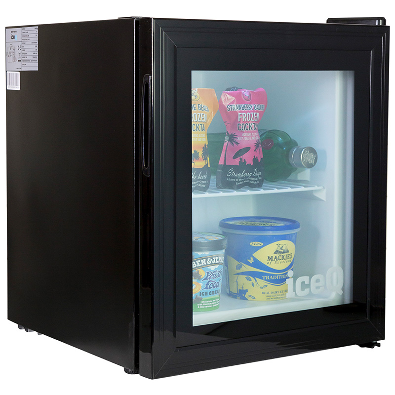 Click to view product details and reviews for Iceq 36 Litre Counter Top Glass Door Display Mini Freezer.