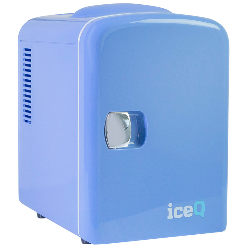 Click to view product details and reviews for Iceq 4 Litre Mini Fridge Blue.