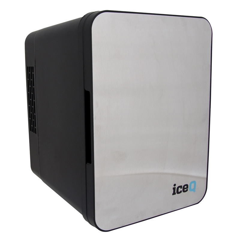 Click to view product details and reviews for Iceq 4 Litre Mini Fridge Stainless Steel Black.
