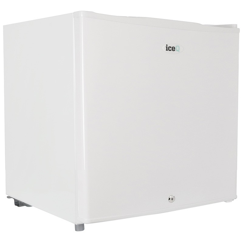 Click to view product details and reviews for Iceq 43 Litre Table Top Lockable Fridge White.