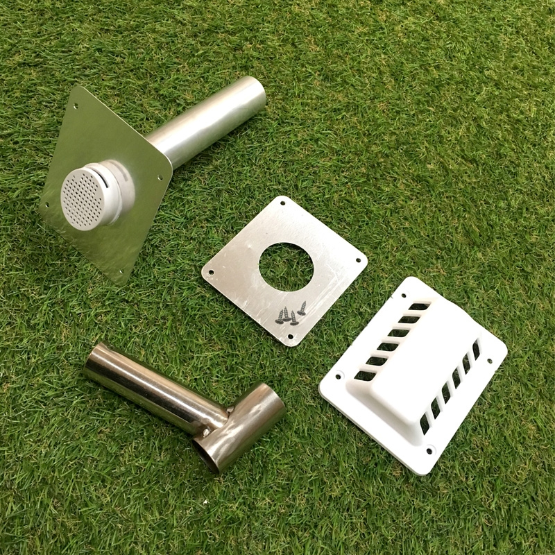 Click to view product details and reviews for Iceq Caravan Motorhome Campervan Camping Fridge Flue Vent Kit.