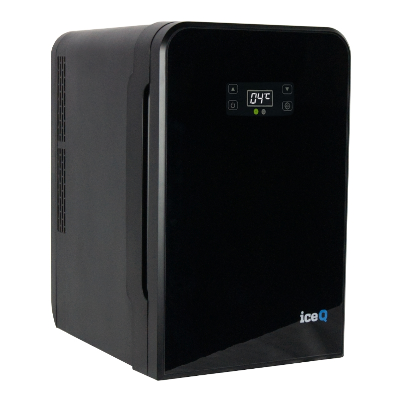 Click to view product details and reviews for Iceq 22 Litre Portable Mini Fridge Black.