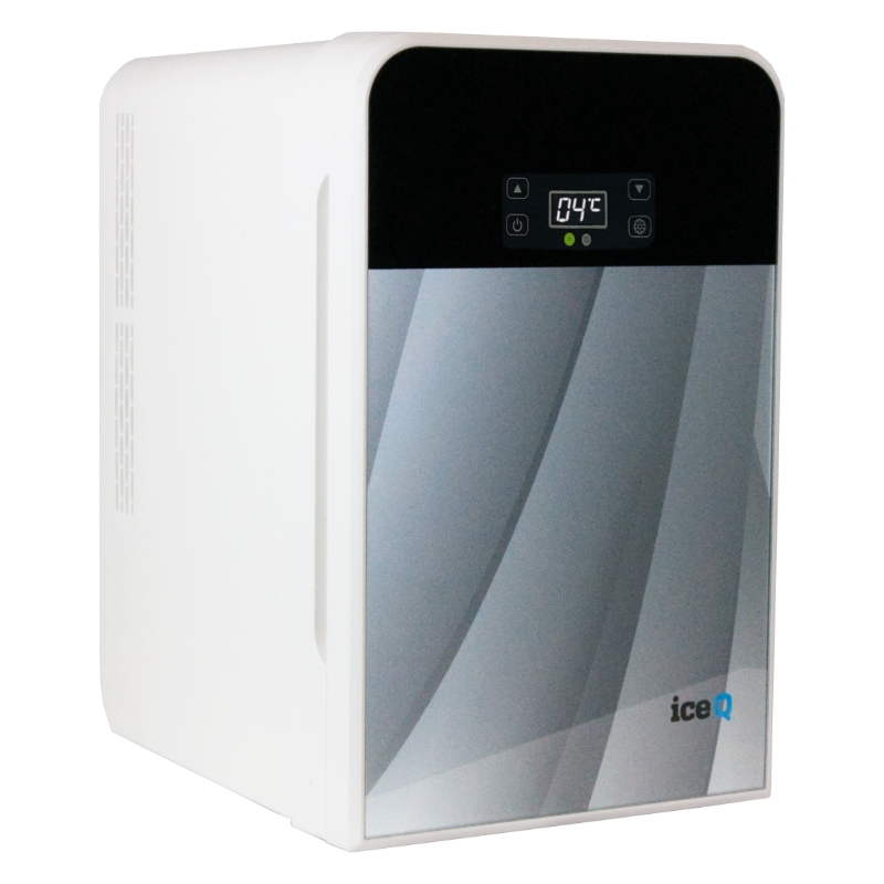 Click to view product details and reviews for Iceq 22 Litre Portable Mini Fridge Silver.