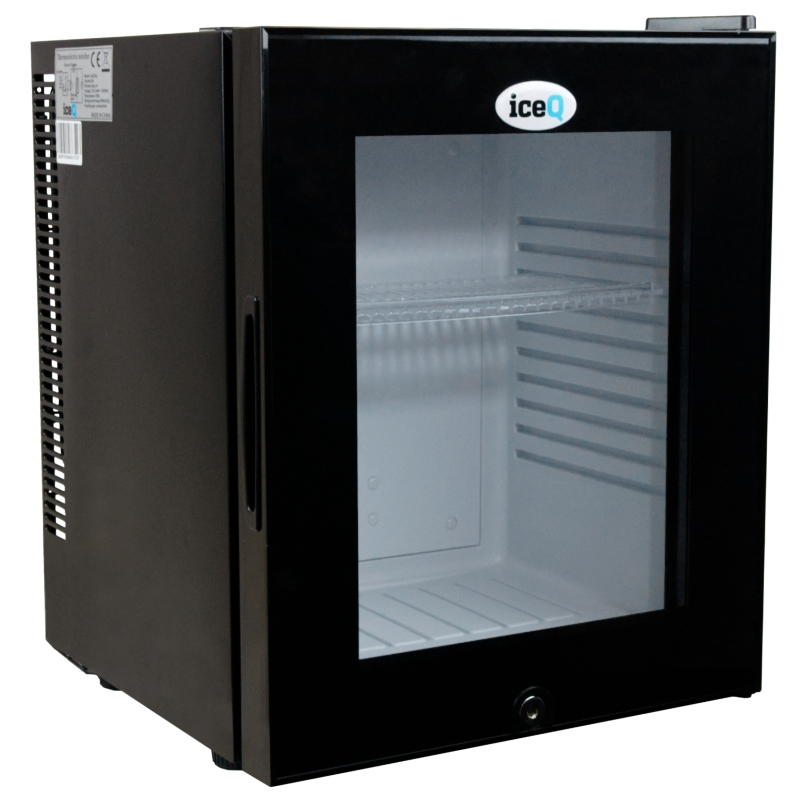 Click to view product details and reviews for Iceq 24 Litre Silent Glass Door Mini Bar.