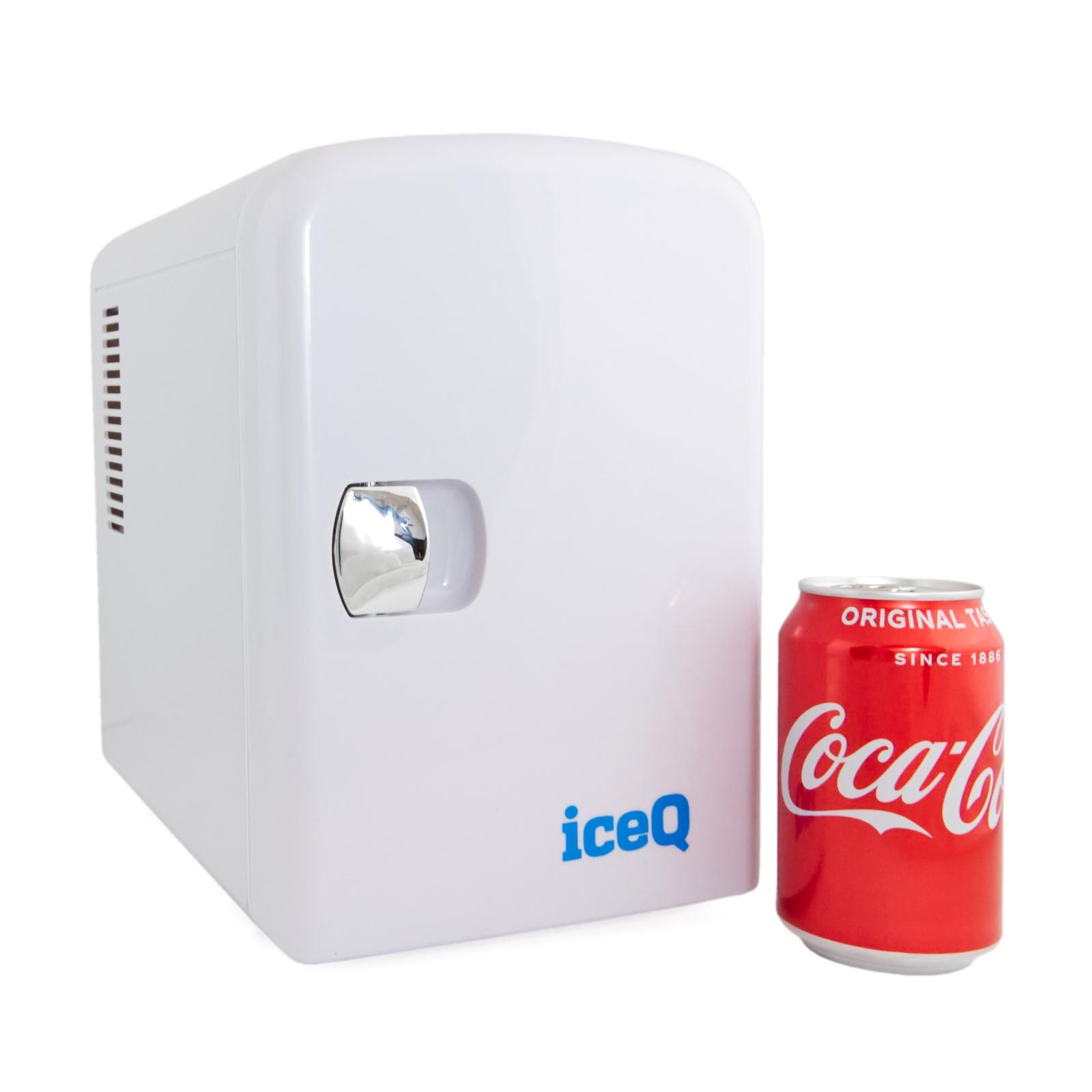Iceq 4 Litre Mini Fridge White