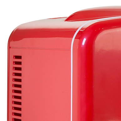 Glossy Red Finish