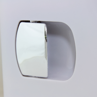 Stylish Chrome Handle