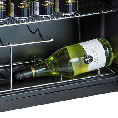 Integrated Wine Rack