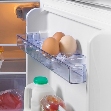 Built-In Egg Tray